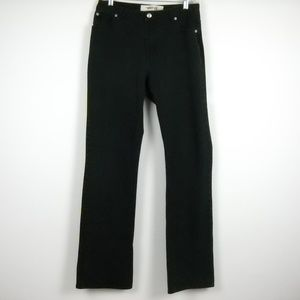 GAP Stretch Boot Cut Jeans Black Size 10 Long